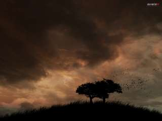 Autumn wind by pincel3d