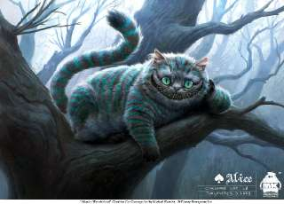 Alice   Cheshire Cat by michae