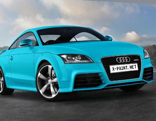 audi tt rs 2010 paint Liquid b