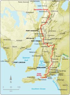 Heysen Trail Map