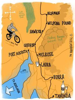 Map Mawson Trail