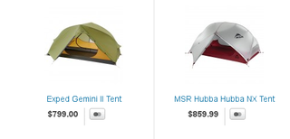 Bivouac tents prices