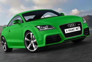 audi tt rs 2010 Botanical gree