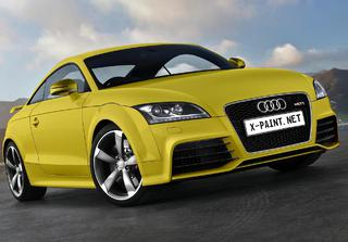 audi tt rs 2010 paint Yellow k