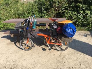 Brompton luggage touring