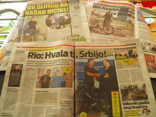 Ryo Asaji Bicycle Serbia
